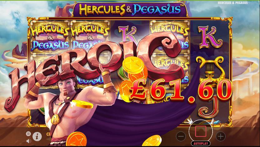 hecules dan pegasus slot online