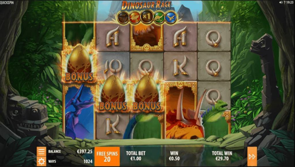 Slot Dinosaur Rage