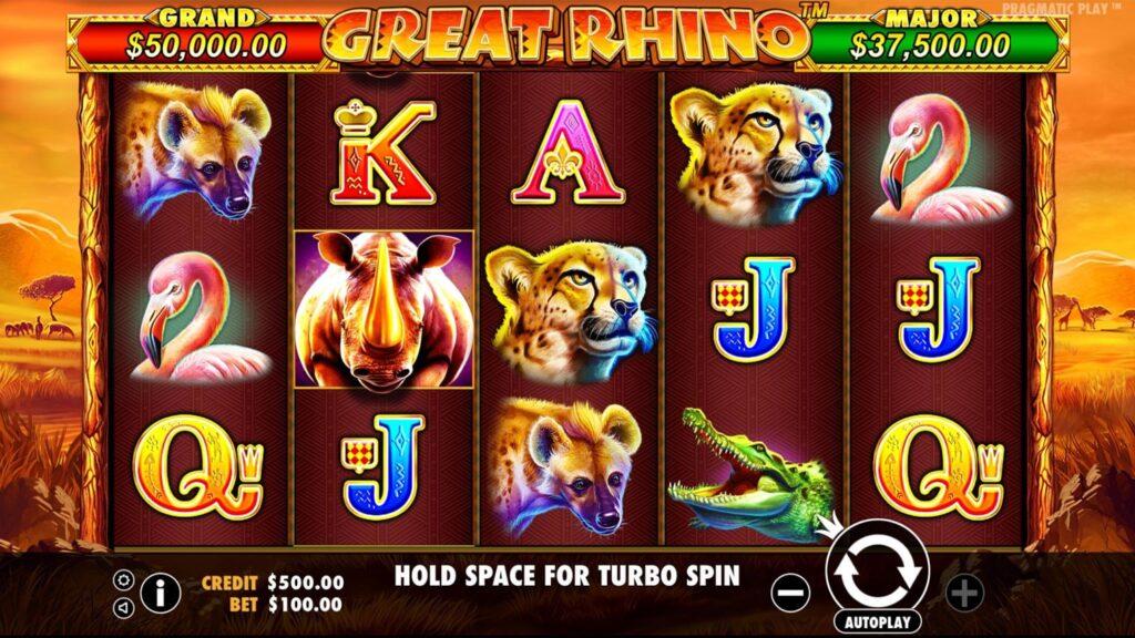 Slot Great Rhino Pragmatic Play