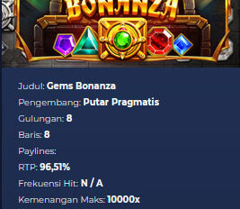 Review Slot Pragmatic Gems Bonanza