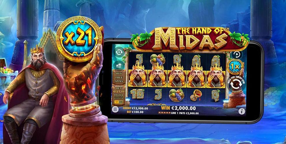 Slot The Hand of Midas