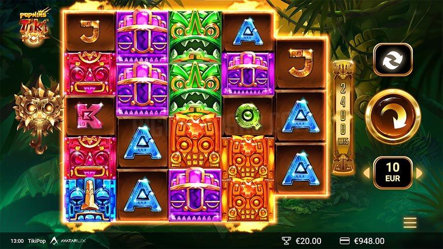 Game Slot Online Tiki Pop